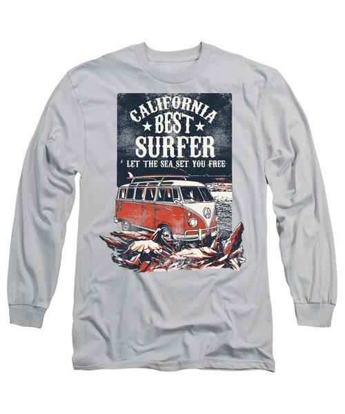 Best Surfer Long Sleeve T-Shirt