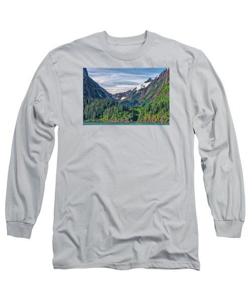Between The Peaks Long Sleeve T-Shirt by Lewis Mann