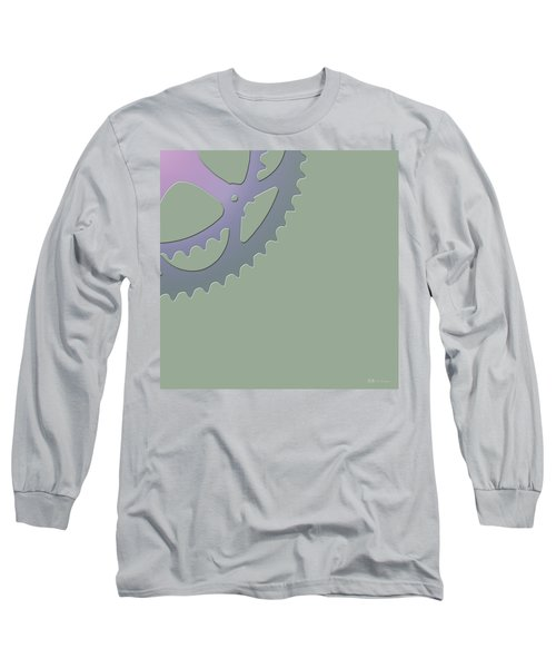 Bicycle Chain Ring - 4 Of 4 Long Sleeve T-Shirt