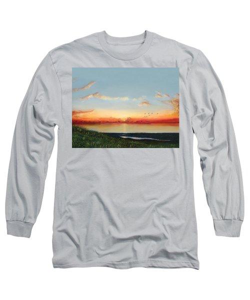 Big Assawoman Bay Long Sleeve T-Shirt