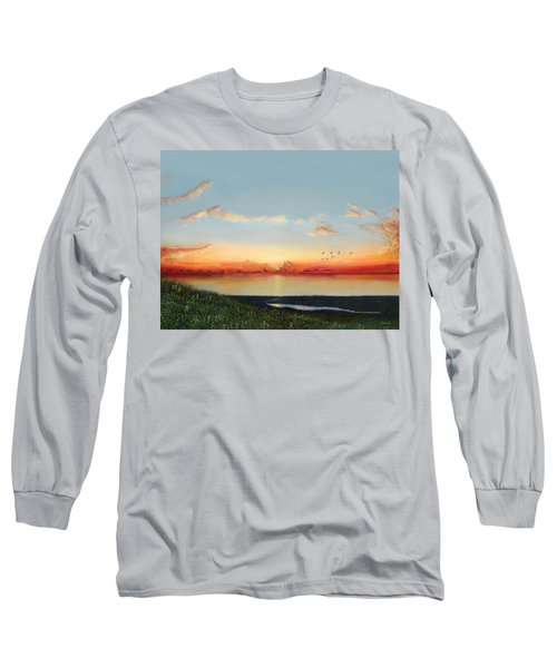 Big Assawoman Bay Long Sleeve T-Shirt
