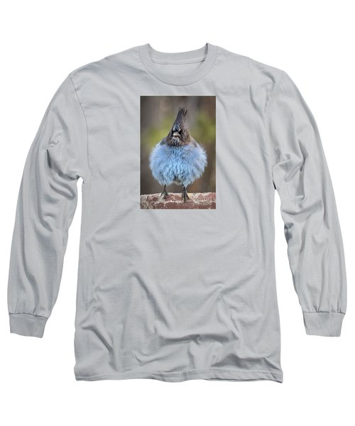 Big Blue Long Sleeve T-Shirt