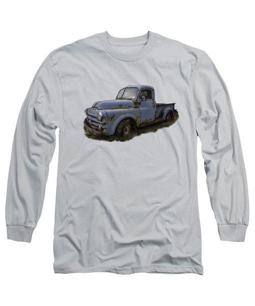 Big Blue Dodge Alone Long Sleeve T-Shirt