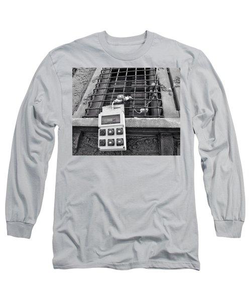 Big Buttons Long Sleeve T-Shirt