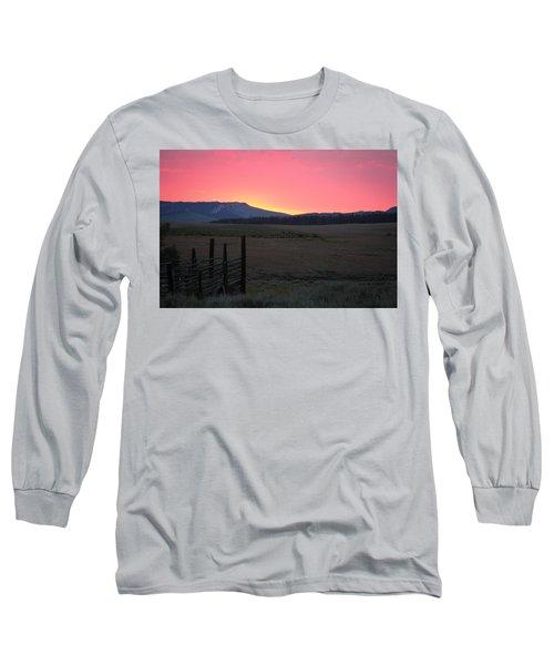Big Horn Sunrise Long Sleeve T-Shirt