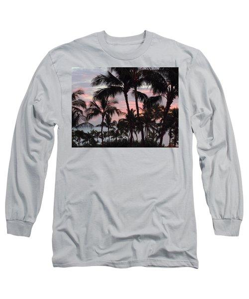Big Island Sunset 2 Long Sleeve T-Shirt