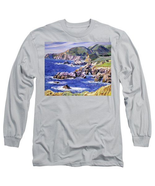 Big Sur California Coast Long Sleeve T-Shirt