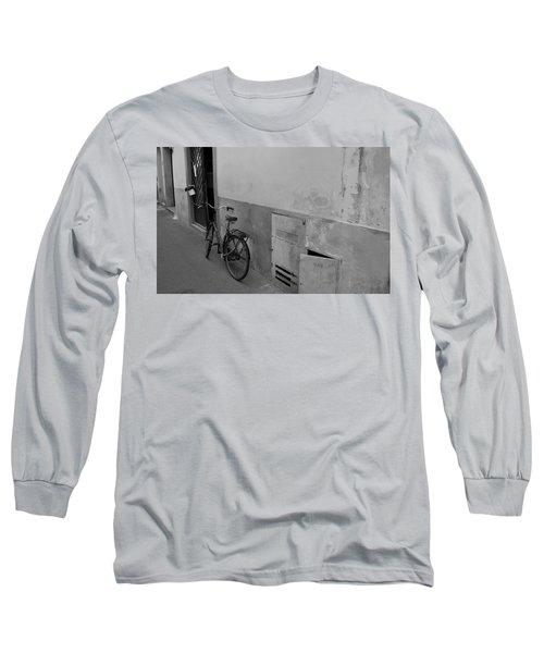 Bike In Alley Long Sleeve T-Shirt
