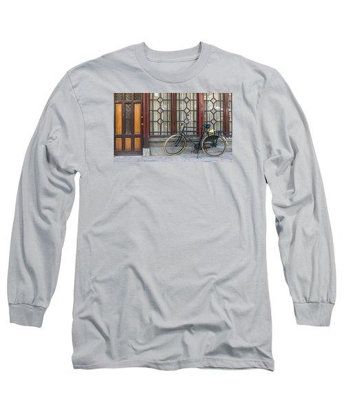 Bike In Amsterdam Long Sleeve T-Shirt