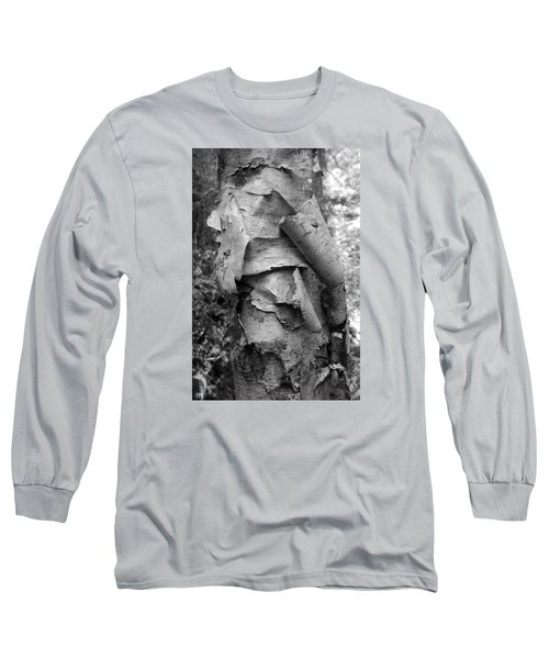 Birch Bark Long Sleeve T-Shirt