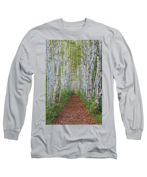 Birch Path Long Sleeve T-Shirt