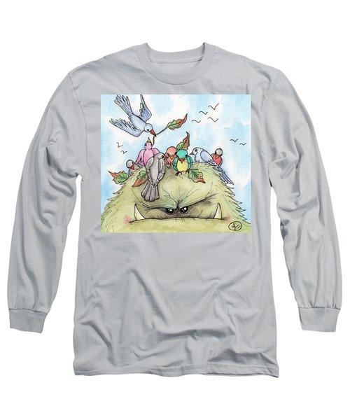 Bird Brained Long Sleeve T-Shirt