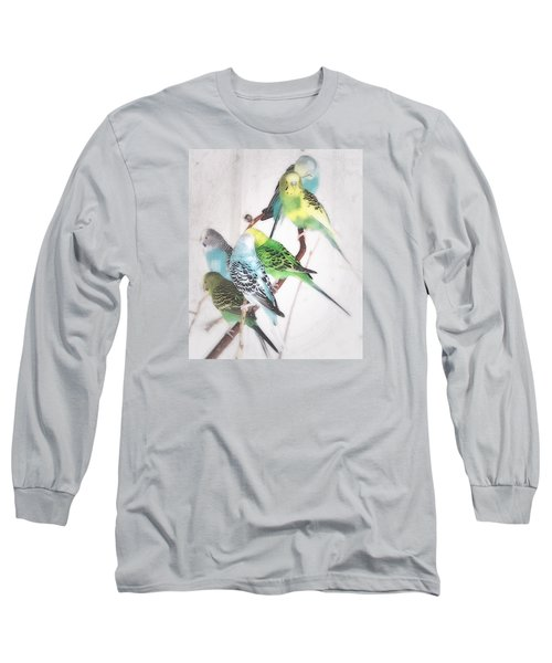 Birds Of A Feather Long Sleeve T-Shirt by Robin Regan