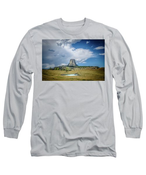 Bison Pond Long Sleeve T-Shirt by Mark Dunton