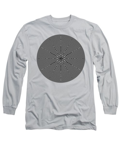 Black And White Mandala 10 Long Sleeve T-Shirt