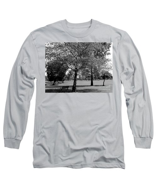 Black And White Nature Long Sleeve T-Shirt