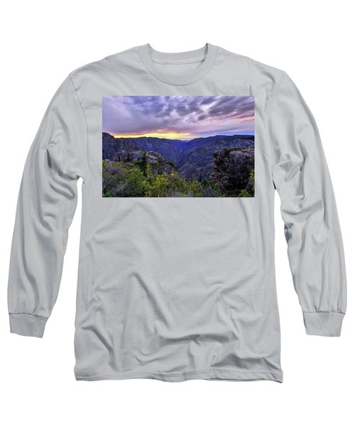 Black Canyon Sunset Long Sleeve T-Shirt