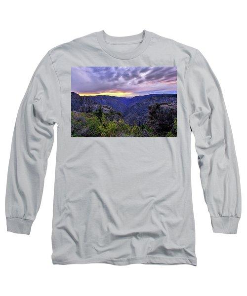 Black Canyon Sunset Long Sleeve T-Shirt