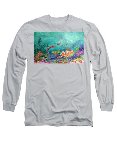 Black Coral Long Sleeve T-Shirt