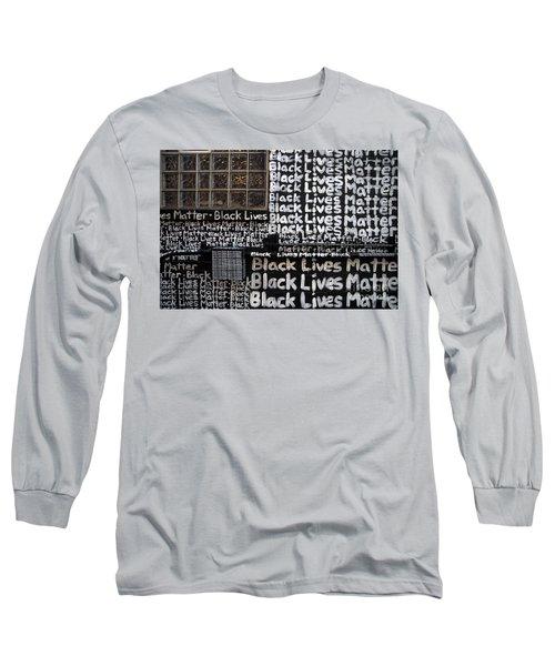 Black Lives Matter Wall Part 1 Of 9 Long Sleeve T-Shirt
