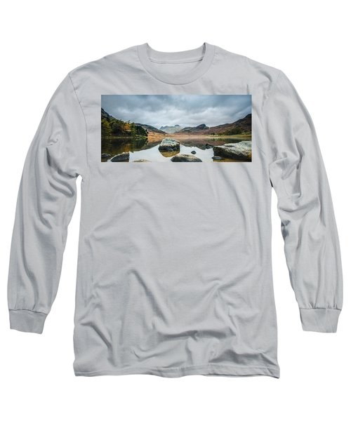 Blea Tarn In Cumbria Long Sleeve T-Shirt