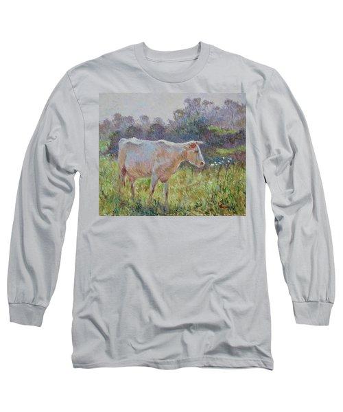 Blonde D'aquitaine Long Sleeve T-Shirt