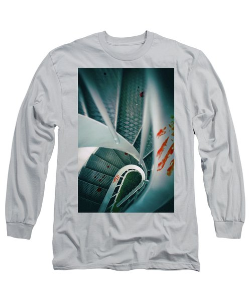 Long Sleeve T-Shirt featuring the photograph Bloody Stairway by Carlos Caetano