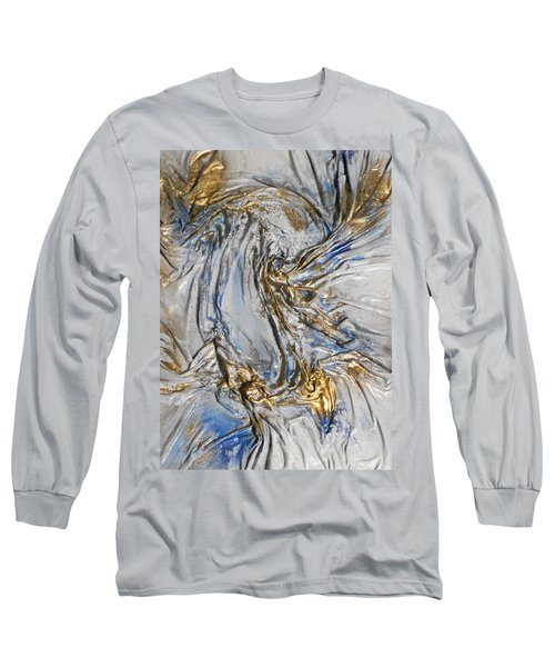 Blue And Gold 3 Long Sleeve T-Shirt