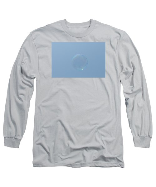 Blue Bubble Long Sleeve T-Shirt