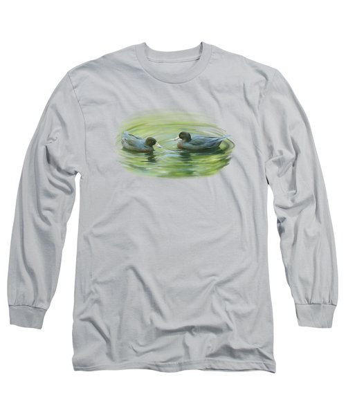 Blue Ducks  Long Sleeve T-Shirt