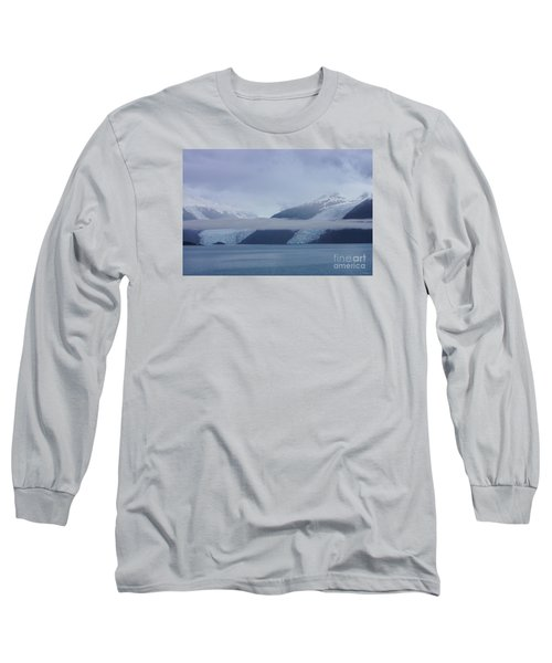 Blue Escape In Alaska Long Sleeve T-Shirt