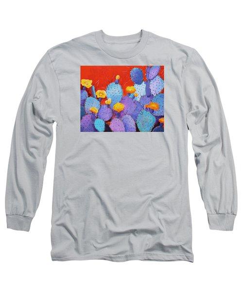 Blue Flame Companion 1 Long Sleeve T-Shirt by M Diane Bonaparte