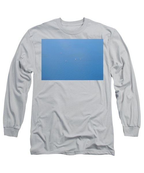 Long Sleeve T-Shirt featuring the photograph Blue Four by August Timmermans