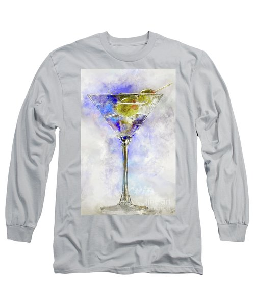 Blue Martini Long Sleeve T-Shirt