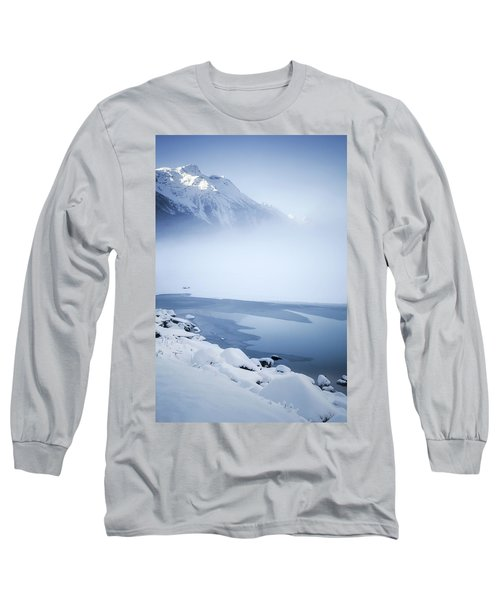 Blue Mountain Fog Long Sleeve T-Shirt