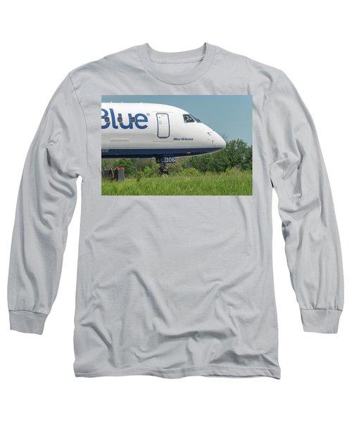 Blue Orleans Long Sleeve T-Shirt