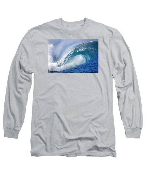 Blue Rush Long Sleeve T-Shirt