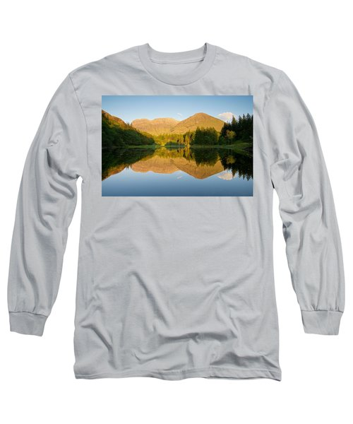 Blue Skies At Torren Lochan Long Sleeve T-Shirt by Stephen Taylor