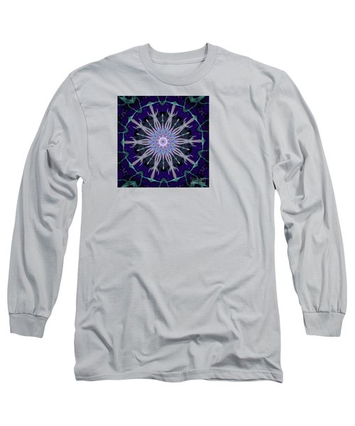 Long Sleeve T-Shirt featuring the photograph Blue Star by Shirley Moravec