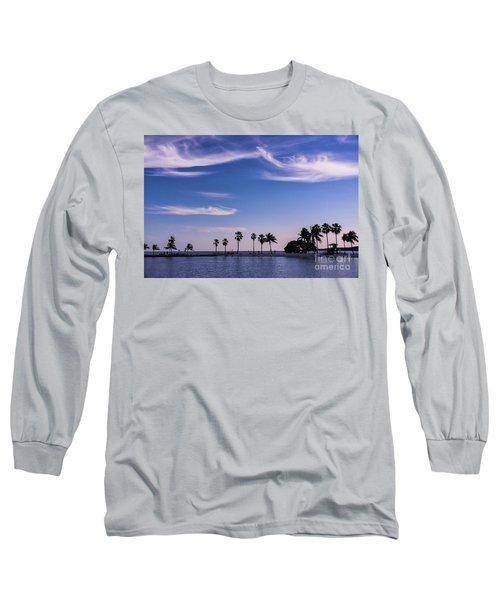 Blue Tropics Long Sleeve T-Shirt