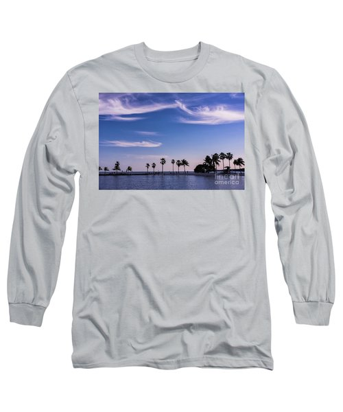Blue Tropics Long Sleeve T-Shirt