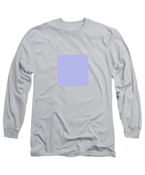 Blue Ultra Soft Lavender Colour Palette Long Sleeve T-Shirt