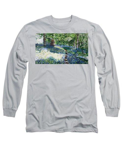 Bluebell Forest Long Sleeve T-Shirt