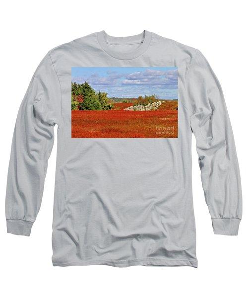 Blueberry Field Long Sleeve T-Shirt