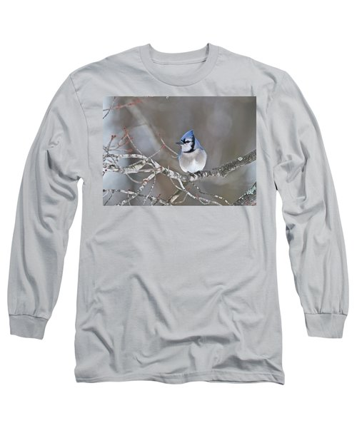 Bluejay 1352 Long Sleeve T-Shirt by Michael Peychich