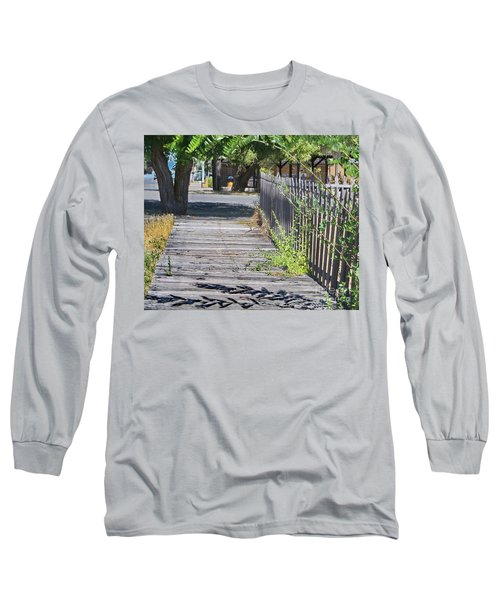 Boardwalk 2 Long Sleeve T-Shirt by Ansel Price