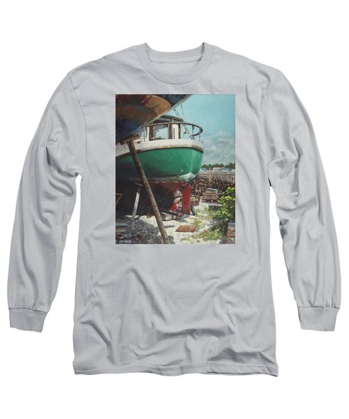 Boat Yard Boat 01 Long Sleeve T-Shirt
