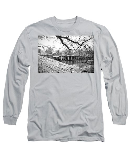 Boathouse Central Park Long Sleeve T-Shirt by Alan Raasch