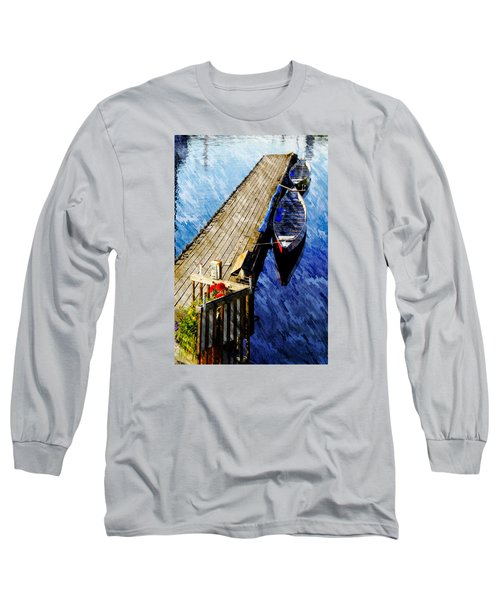 Boats At Rest Long Sleeve T-Shirt by Bill Howard