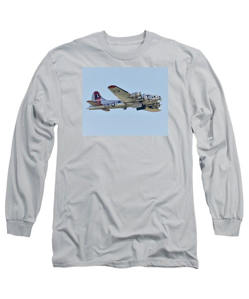 Boeing B-17g Flying Fortress Long Sleeve T-Shirt by Alan Toepfer